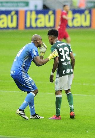 Jailson Tche Tche Palmeiras x Internacional (Foto: Marcos Ribolli)