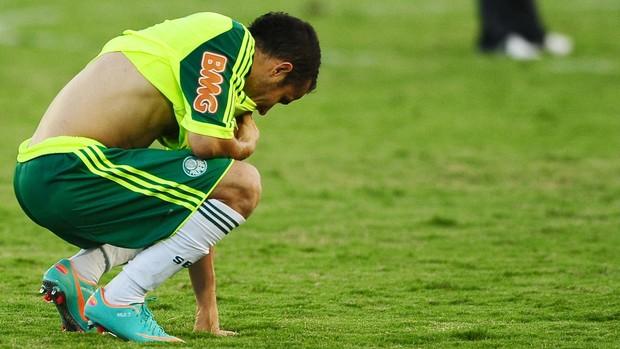 Maikon Leite Palmeiras empate com o Flamengo (Foto: Marcos Ribolli / Globoesporte.com)