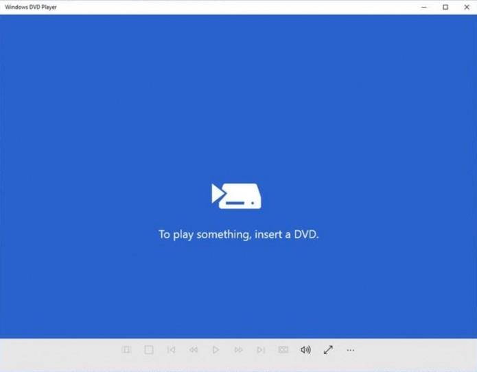Windows DVD Player vai substituir Windows Media Player nos computadores (Foto: Divulgação/Microsoft)