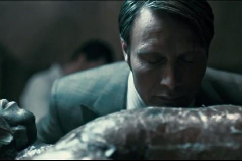 Cena da segunda temporada de 'Hannibal' (Foto: Reprodução da internet)