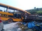 Acidente envolvendo ônibus escolar deixa três mortos na TO-230