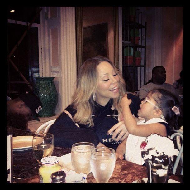 Mariah Carey e a filha (Foto: Instagram/Reprodução)