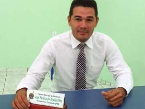Vereador Zé Filho foi preso suspeito de corrupção passiva, em São Bento do Tocantins (Foto: Divulgação)