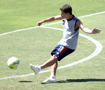 Conca no treino do Fluminense (Foto: Fernando Cazaes / Photocamera)