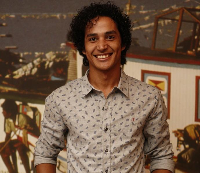 Diyo Coêlho vai ser Bento na nova novela das 9, ele entra na primeira fase (Foto: Inacio Moraes/ Gshow)
