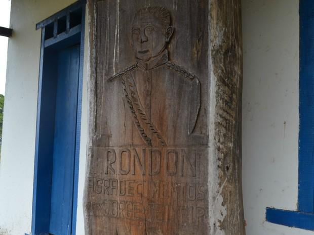 Museu Municipal Marechal Rondon, em Vilhena, RO (Foto: Eliete Marques/G1)