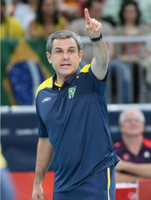 José Roberto Guimarães, Brasil x China (Foto: Divulgação / FIVB)