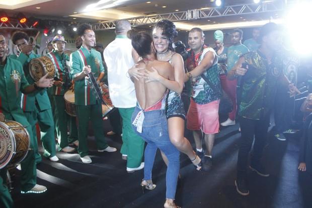 Juliana Paes e Paloma Bernardi (Foto: Rodrigo dos Anjos / Daniel Pinheiro / AgNews)