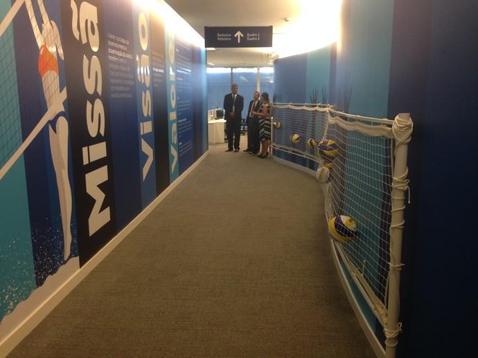 Inauguração sede CBV vôlei (Foto: Danielle Rocha)
