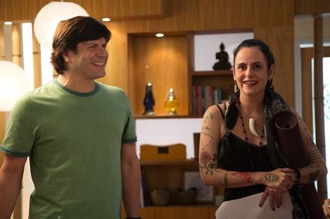 Paulo Ricardo e Fernanda Fernanda Young (Foto: Andréa D'Amato)