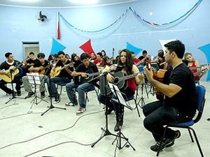 Casa da Música oferecerá aulas em Itanhaém, SP (Foto: Divulgação / Prefeitura de Itanhaém)