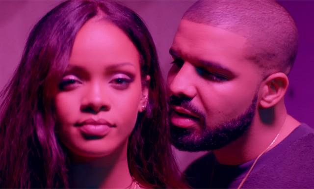 Rihanna e Drake no clipe de 'Work' (Foto: Divulgação)