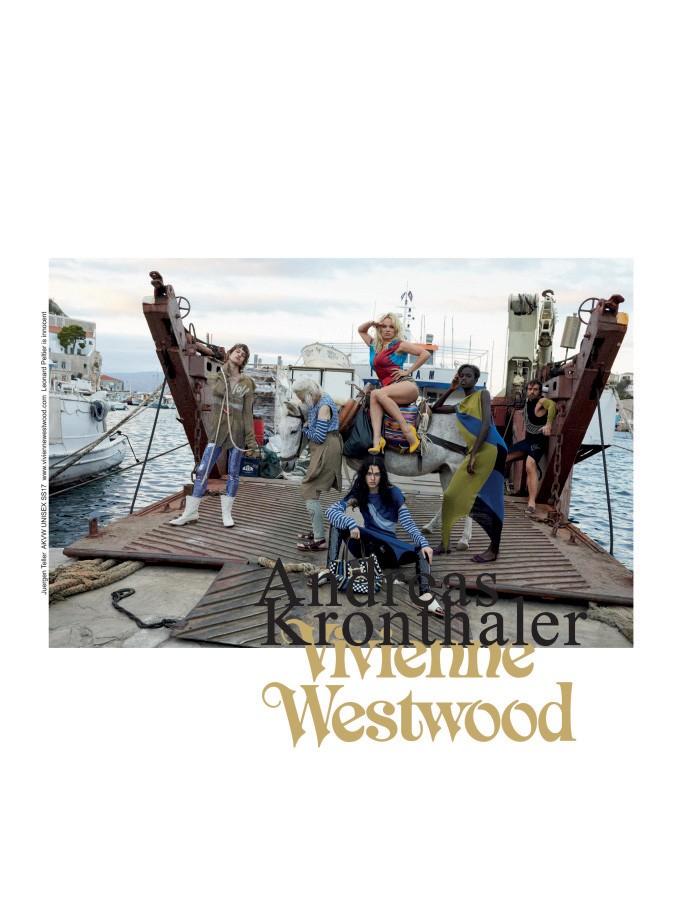 Vivienne Westwood, verão 2017 (Foto: Reprodução)
