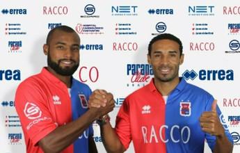 Pitty e João Paulo chegam com moral ao Paraná Clube e vencem enquete