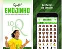 Emojinhos: Ronaldinho Gaúcho lança aplicativo para mensagens