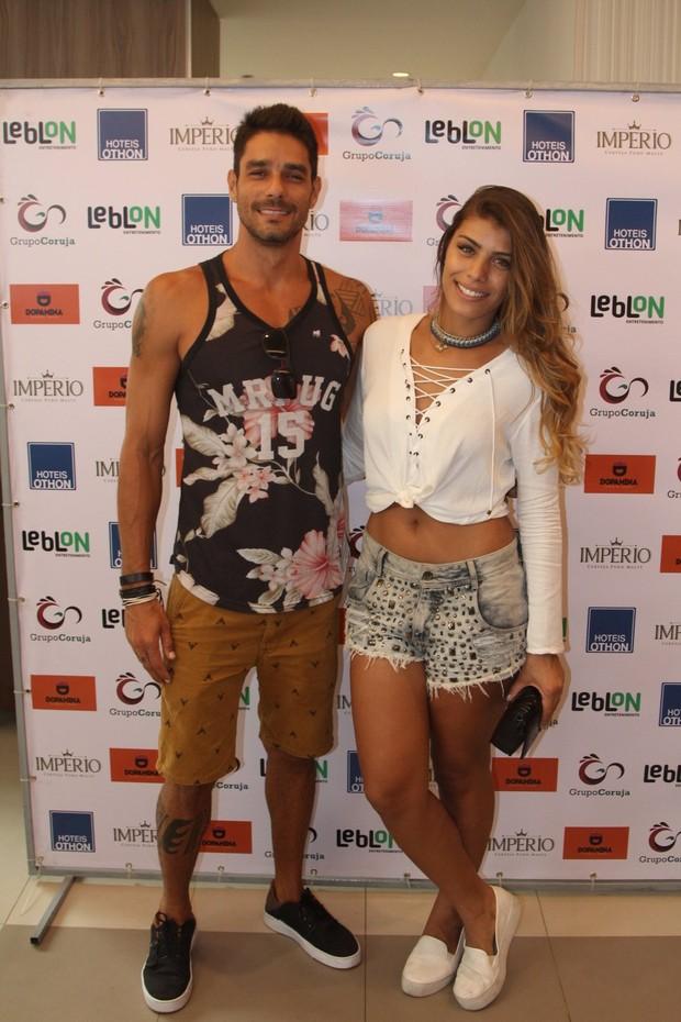 Fran e Diego Grossi (Foto: AgNews  / AgNews)