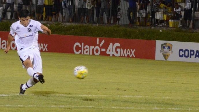 Echeverria - meia do ABC (Foto: Frankie Marcone/ABC FC)