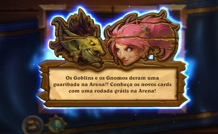 As novas cartas estão disponíveis no modo Arena para você testar de graça (Foto: Reprodução / Dario Coutinho)