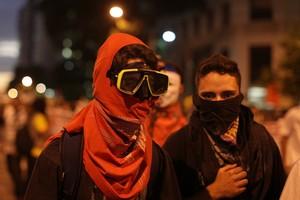 FOTOS: várias cidades protestam (Rodrigo Gorosito/G1)