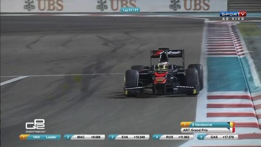Vandoorne vence 7ª e bate recorde na GP2; Negrão quebra jejum e pontua