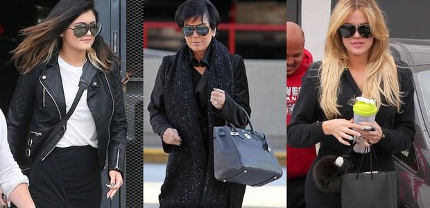 Kylie Jenner, Kris Kardashian e Khloé Kardashian (Foto: Divulgação)