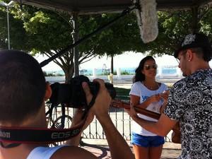 Cantora registra os bastidores de seu novo projeto (Foto: Divulgação)