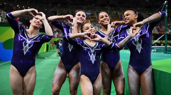 Equipe do Brasil de ginástica (Foto: Getty Images)