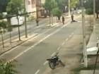 Jaguaruana é sitiada, bancos são atacados e suspeitos morrem em troca de tiro