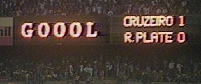 Cruzeiro x RIver Plate (Foto: Reprodução / TV Globo Minas)