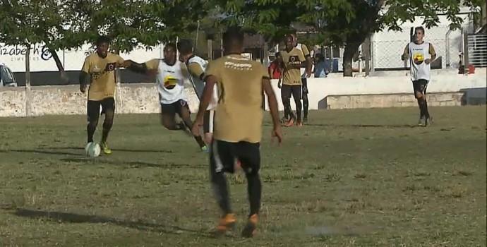 Botafogo-PB, sub-19 (Foto: Reprodução / TV Cabo Branco)