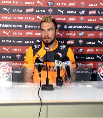 Willian Farias; Vitória (Foto: GloboEsporte.com)