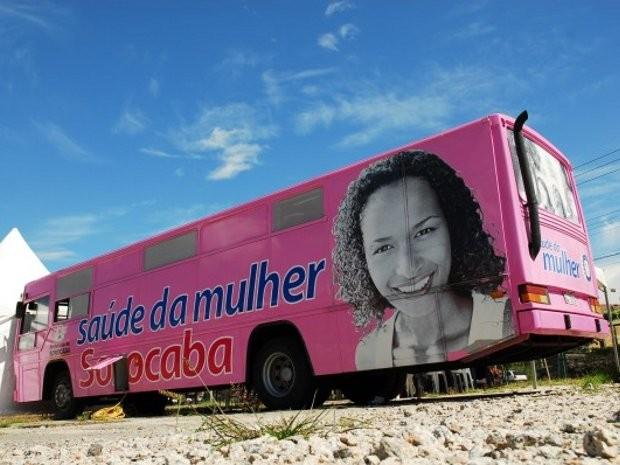 Unidade móvel de saúde atende mulheres de Sorocaba (Foto: Divulgação/Prefeitura de Sorocaba)