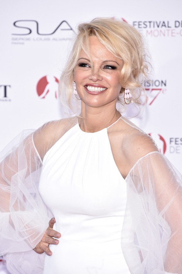 MONTE-CARLO, MONACO - JUNE 16:  Pamela Anderson attends the 57th Monte Carlo TV Festival Opening Ceremony on June 16, 2017 in Monte-Carlo, Monaco.  (Photo by Pascal Le Segretain/Getty Images) (Foto: Getty Images)