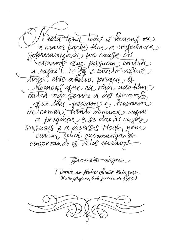 Carta 3  Manuel da Nóbrega (Foto: Estúdio Italico)