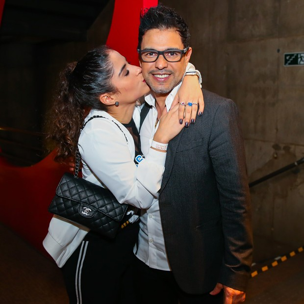 Camilla Camargo e Zezé Di Camargo (Foto: Marcos Ribas/BrazilNews)
