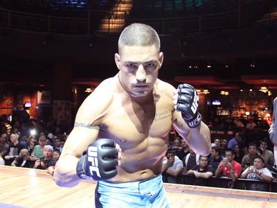 Diego Sanchez treino UFC 166 (Foto: Evelyn Rodrigues)