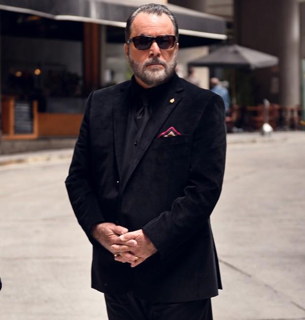 Tony Ramos caracterizado como Abel Zebu (Foto: Divulgação/TV Globo)