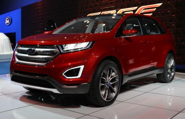 Novo Ford Edge Aparece Como Conceito Em Los Angeles Auto Esporte Not 237 Cias