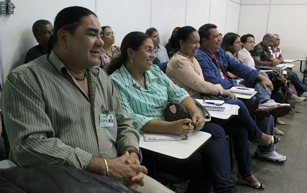 Reunião ocorreu nesta sexta-feira (21), em Manaus (Foto: Katiúscia Monteiro/ Rede Amazônica)