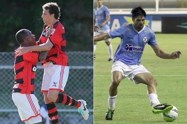 Flamengo e Macaé jogam pelo Campeonato Carioca (Foto: Reprodução/Marcelo Theobald /Agência O Globo/Tiago Ferreira)