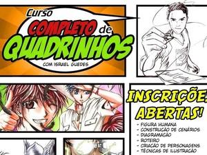 Segundo curso de quadrinhos no Amapá vai ser realizado em maio (Foto: Reprodução/Divulgação)