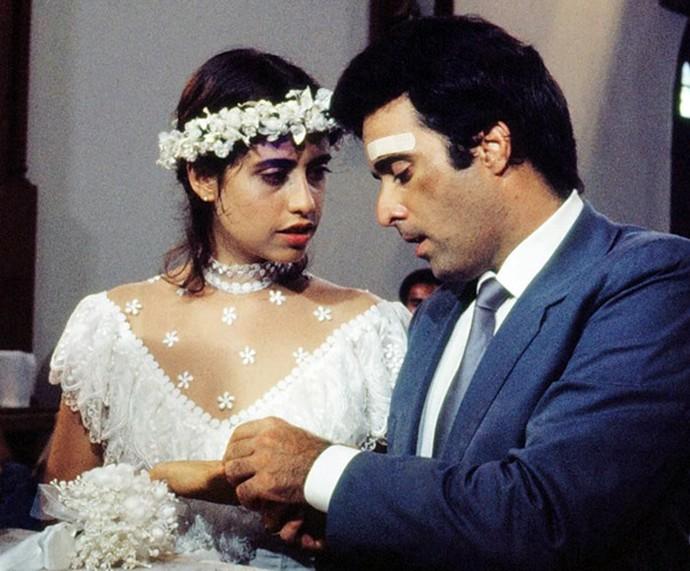 Ao lado de Fernanda Torres, Tony Ramos atuou na 2ª versão da novela (Foto: Nelson Di Rago / TV Globo)