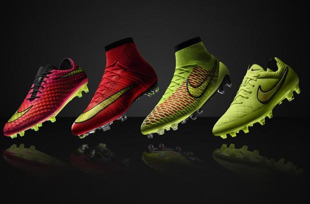 Chuteiras da Nike para Copa do Mundo 2014 (Foto: Divulgação / Nike )