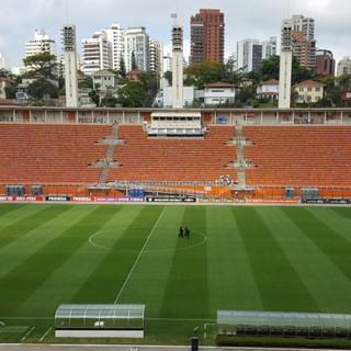 Pacaembu Flamengo Santa Cruz (Foto: Hector Werlang)