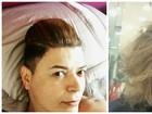David Brazil fala do novo visual: 'Mais liso que o cabelo do Wesley Safadão!'