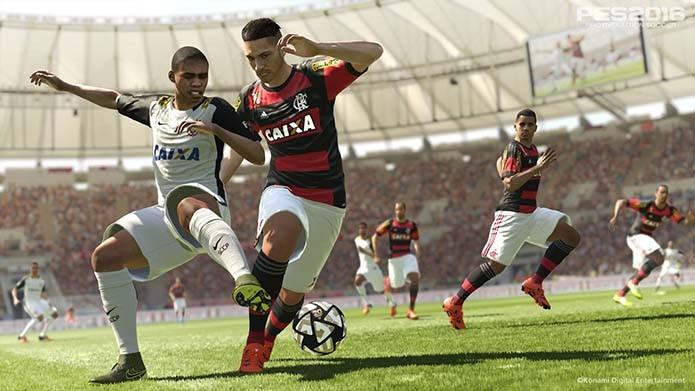 Guerrero no Flamengo é uma das novidades (Foto: Divulgação/Konami)