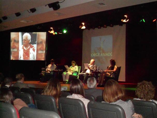 Amigos da Escola: leitura de textos de Jorge Amado leva 120 estudantes à ABL (Foto: Divulgação)