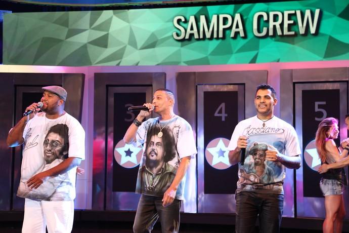 SampaCrew relembra sucesso (Foto: Carol Caminha / Gshow)