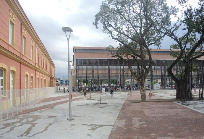 Praça do Trem Engenhão (Foto: Fabio Leme)