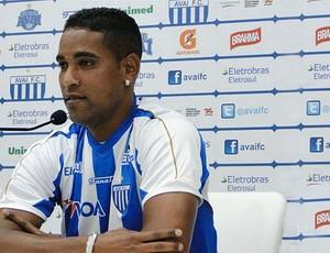 Cleber Santana, Avaí (Foto: Divulgação / Site oficial do Avaí)